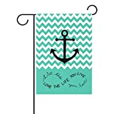 Cheap JSTEL Home Anchor Polyester Fabric Garden Flags Lovely And Mildew Resistant Custom Of Waterproof 28 X 40 Inch