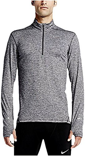 - Men's Nike Dry Element Running Top Grey/Heather - Medium