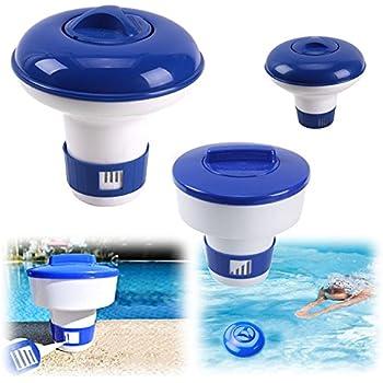 Floating Chlorine Dispenser For 1 Inch Tablets Chemical Chlorine Tablet Floater