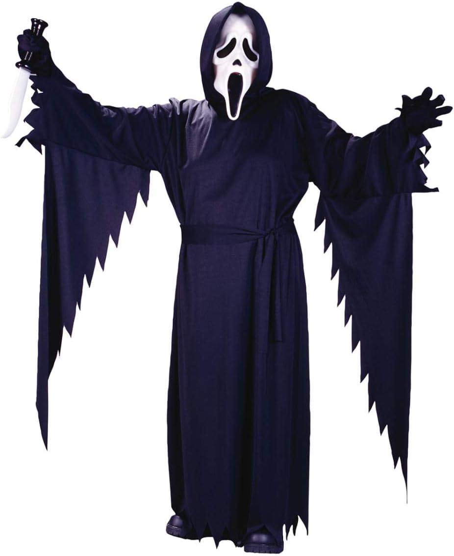 Horror-Shop Scream Disfraz con máscara Adolescentes: Amazon.es ...