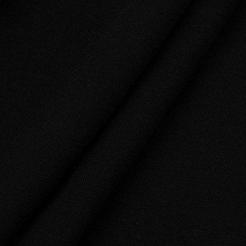 cuello del delgada hombre tapas O OverDose blusa manga ocasional camisetas las Negro de larga X16qa0