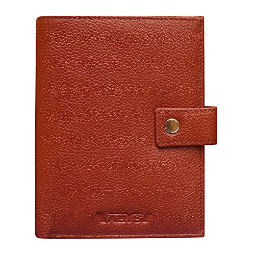 ABYS Leather Unisex Passport Wallet  1853ABDQ10_Bombay Brown