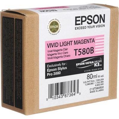 Epson America - Vivid Light Magenta Ink Cart -  T580B00
