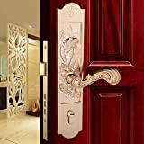 Daeou Zinc alloy lock the hotel conference room lock body villa wooden door handle