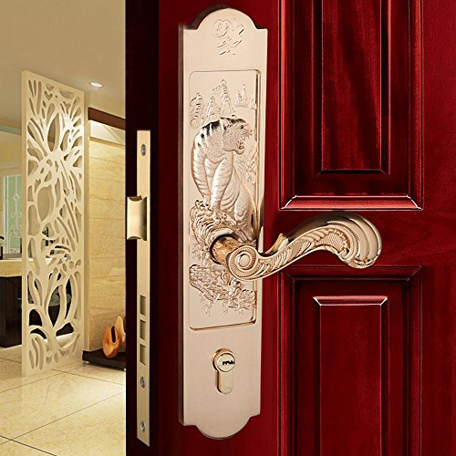 Daeou Zinc alloy lock the hotel conference room lock body villa wooden door handle by Daeou