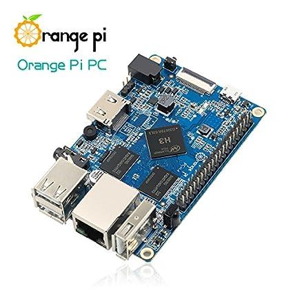 Orange Pi PC Single Board Computer Quad Core ARM Cortex-A7 1GB DDR3 4K  Decode