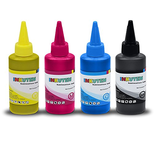 INKUTEN 4x100ml Premium Sublimation ink for Ricoh SG 3110 2100N 3100 3100SNW 3110DNW 3110DN 3110SFNW SG41 Highest Quality Korean-Made