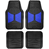 FH Group F11313BLUE Rubber Floor (Blue Full Set Trim to Fit Mats)