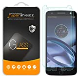 [2-Pack] Supershieldz for Motorola Moto Z / Moto Z Droid Tempered Glass Screen Protector, Anti-Scratch, Anti-Fingerprint, Bubble Free, Lifetime Replacement Warranty