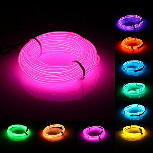 promo code d364c 29e5c Bazaar 10M EL Led Flexible Soft Tube Wire Neon Glow Car Rope ...