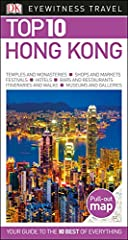 """Newly revised, updated, and redesigned for 2016.True to its name, DK Eyewitness Travel Guide: Top 10 Hong Kong covers all the city's major sights and attractions in easy-to-use """"top 10"""" lists that help you plan the vacation that's right for y..."""