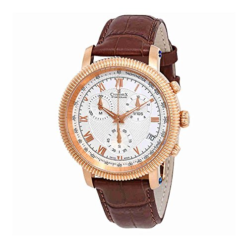 Charmex President II Chronograph White Dial Mens Watch 2985
