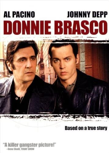 Amazon.com: Donnie Brasco Poster Movie C 11x17 Johnny Depp Al ...