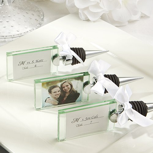 (FavorOnline Photo - Place Card Holder Wine Bottle Stoppers, 72)