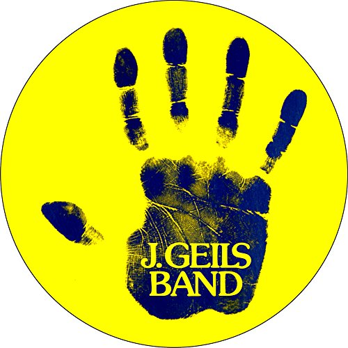 [해외]J. Geils Band - 성역 (손자국) - 1 1 4 버튼 핀/J. Geils Band - Sanctuary (Handprint) - 1 1 4  Button   Pin