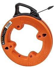 Klein Tools 56005 25-Feet Depth Finder High Strength 1/4-Inch Wide Steel Fish Tape