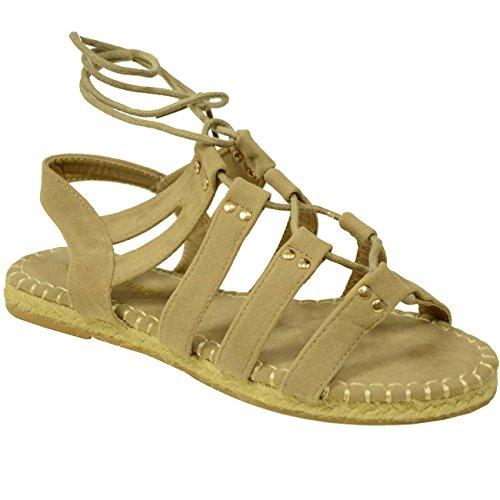 Cucu Fashion - Zapatos con tacón mujer Marrón - khaki suede