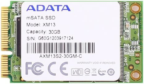ADATA XM13 - Disco Duro sólido (30 GB, 63.5 mm (2.5