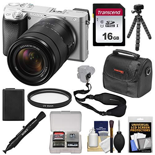 Sony Alpha A6300 4K Wi-Fi Digital Camera & 18-135mm Lens  wi