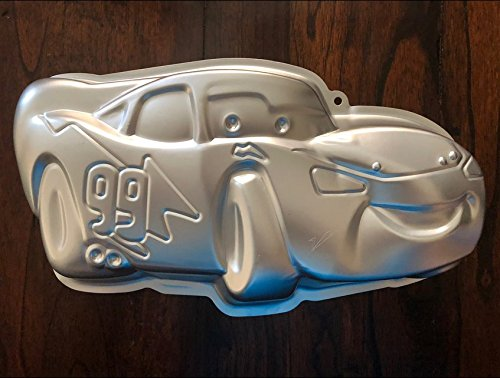 Cars Lightning Mcqueen Cake Pan Mold Cupcake Birthday Party -