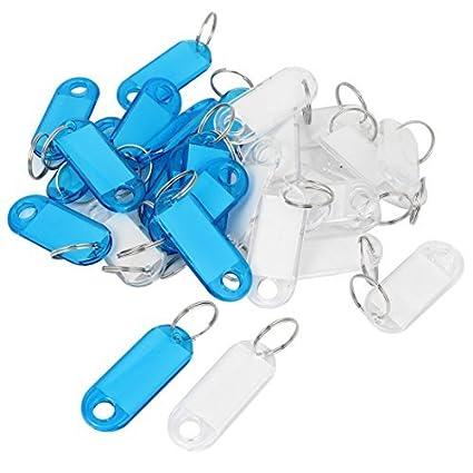 Amazon.com : eDealMax plástico Diseño Oval Fobs Depósito de ...