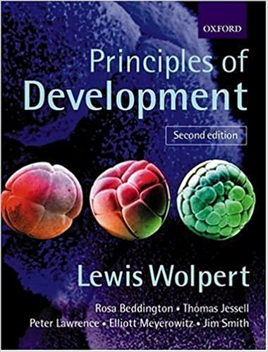 Book Principles of Development, 2nd Ed. 2nd (second) Edition by Wolpert, Lewis, Beddington, Rosa, Jessell, Thomas, Lawrence, published by OUP Oxford (2001)