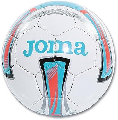 Joma Ropa de Deporte Balon Forte Sala 54 cm Blanco-Azul Soccer ...