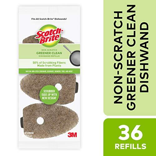 Scotch-Brite Greener Clean Dishwand Refills, 36 Count
