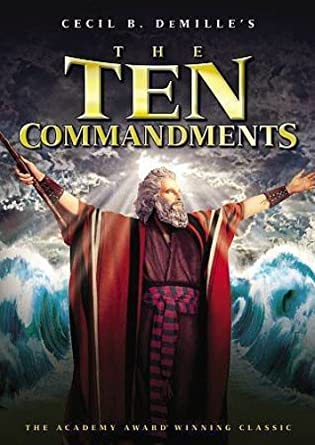 Image result for the ten commandments movie