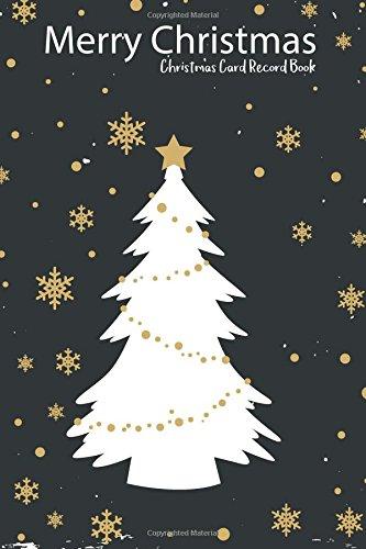 christmas card record book merry christmas address book tracker log book corner 9781979404822 amazon com books christmas card record book merry
