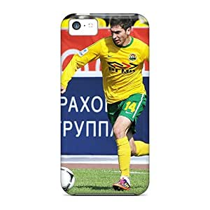 High Quality Shock Absorbing Case For Iphone 5c-russian Footballer Alexei Ionov