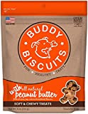 Cloud Star Soft & Chewy Buddy Biscuits – Peanut Butter Flavor – 6Oz.