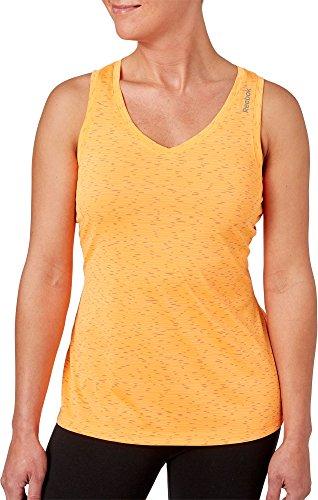 ミルク写真を撮る雇ったリーボック トップス シャツ Reebok Women's Blip Melange Tank Top BlipFireSp [並行輸入品]