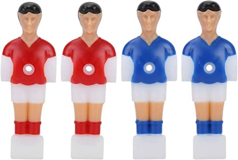 Alomejor Table Soccer Player 4 Piezas Men Mini Football Player Repuestos para Table Football: Amazon.es: Deportes y aire libre