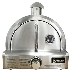 Amazon Com Mont Alpi Mapz Ss Table Top Gas Pizza Oven