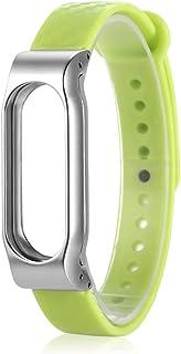 Zhuhaimei,Bracelet TPE 14 mm à Fermeture élastique pour Bracelet Intelligent Xiaomi Mi Band 2(Color:Green Green) Bracelet TPE 14 mm à Fermeture élastique pour Bracelet Intelligent Xiaomi Mi Band 2(Color:Green Green)