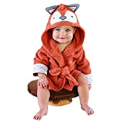 Baby Aspen Rub-A-Dub Hooded Spa Robe, Fox in the Tub