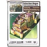 Aue Verlag Schreiber-Bogen Card Modelling Fortress Hohensalzburg