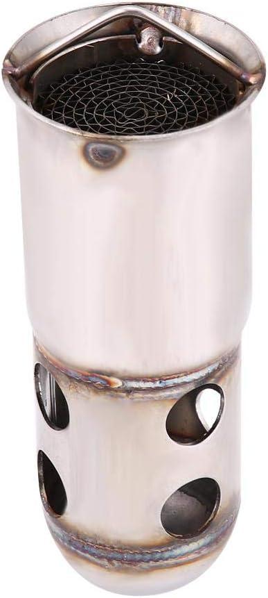 eliminatore di inserto silenziatore silenziatore tubo di scarico moto in acciaio inox universale 51mm DB Killer tubo di scarico 1