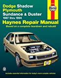 Dodge Shadow & Ply. Sundance '87'94 (Haynes Repair Manuals)