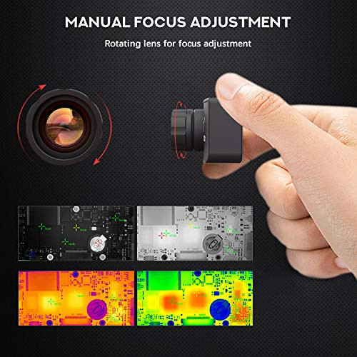 384 x 288 IR Resolution Infrared Thermal Imaging Camera for Android Micro USB or USB-C Smartphone with 25 HZ, Hti-Xintai Thermal Camera