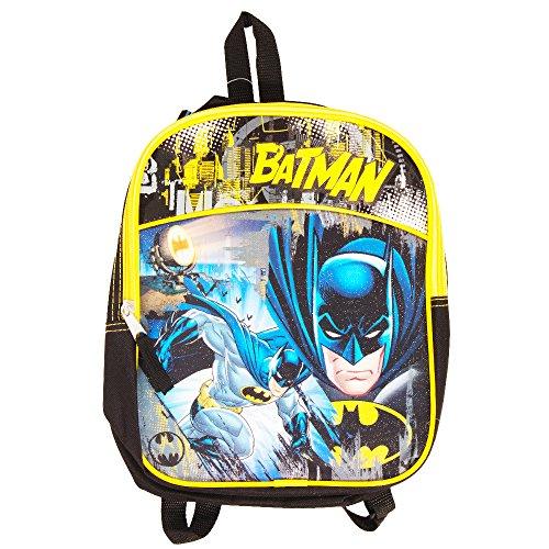 "Batman 11"" Mini Toddler Preschool Backpack (Batman v Superman) (Batman For Toddlers)"