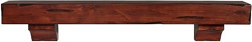 Pearl Mantels 412-72-70 Shenandoah Pine Wall Shelf, 72-Inch, Rustic Cherry Renewed