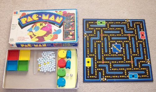 1980 Pac-Man Game (Vintage Board Game)