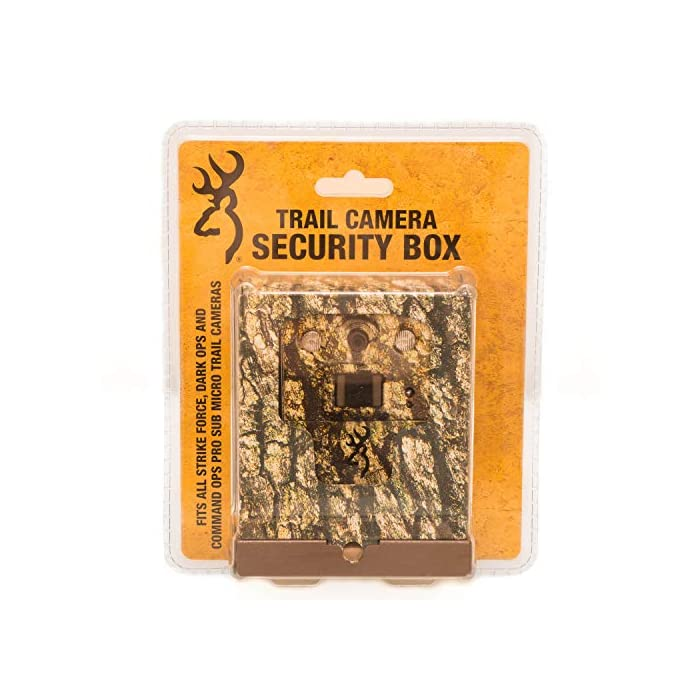 Browning Dark Ops HD Pro X (2019) Trail Game Camera Bundle Includes Browning Sub Micro Security Box + 32GB Memory Card + J-TECH Card Reader (20MP) | BTC6HDPX