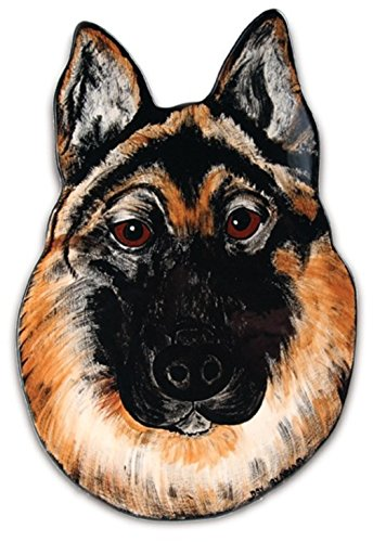 Rescue Me Now German Shepherd Ear Plate, 11-1/2-Inch, Pavilion Gift -