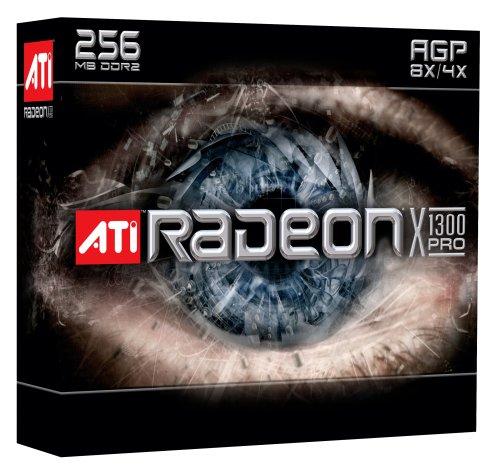 (AMD ATI Radeon X1300 Pro 256 MB AGP Card)