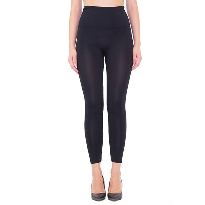 Amazon.com: Brio Leggings Capri – Mallas banda de cintura ...