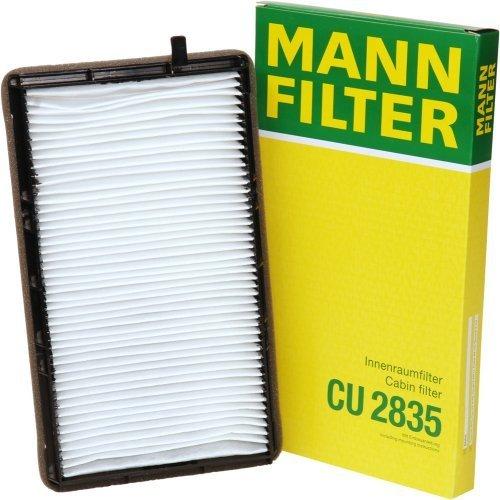 Mann-Filter CU 2835 Cabin Filter for select BMW models by Mann Filter
