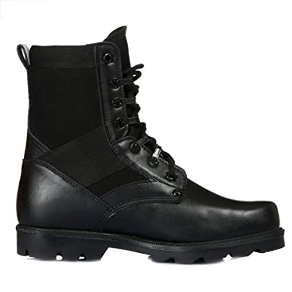09c63995be Amazon.com: SHANHEYY Men's Martin Boot Army Military Tactical Boots ...